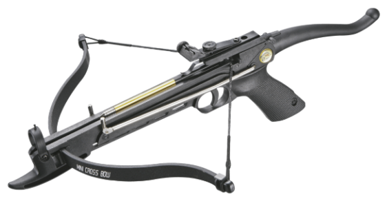 Пистолетный арбалет Man Kung МК 80А4PL в комплектации