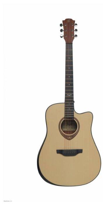 Гитара вестерн Flight AD-455C NA