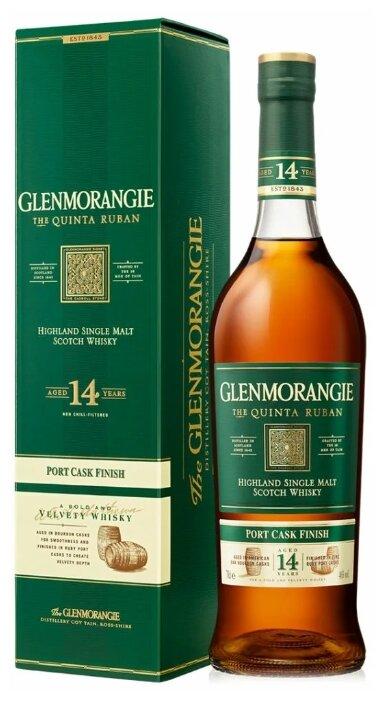 Виски Glenmorangie Quinta Ruban 14 лет 0,7 л, подарочная упаковка