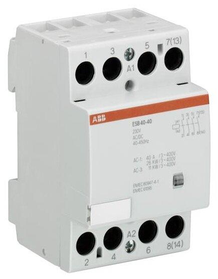 Модульный контактор ABB GHE3491102R0004 40А