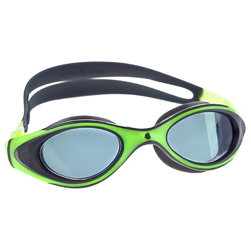 Очки для плавания MAD WAVE Automatic Junior Flame green/grey очки nike optics rabid p matte crystal mercury grey volt green polarized lens