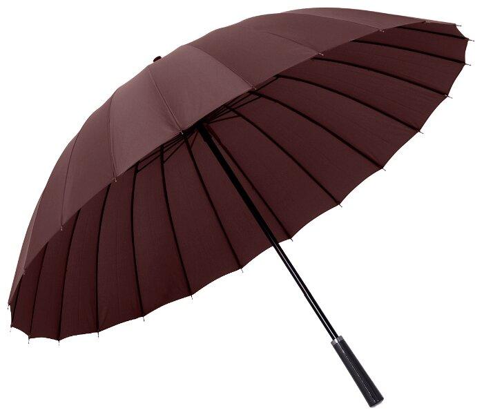 Зонт-трость механика Maple Leaf Eastern style