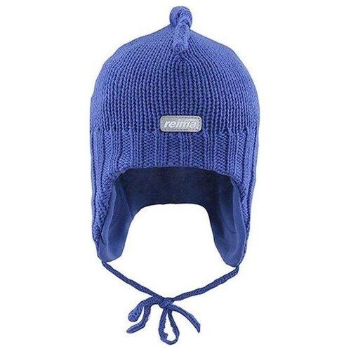 Шапка Reima размер 48, ultra blue шапка reima размер 48 pink