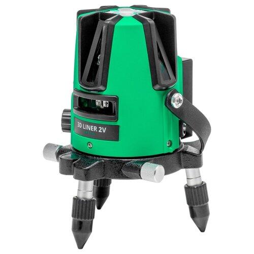 Лазерный уровень самовыравнивающийся ADA instruments 3D LINER 2V GREEN (A00532) 3d liner 2v