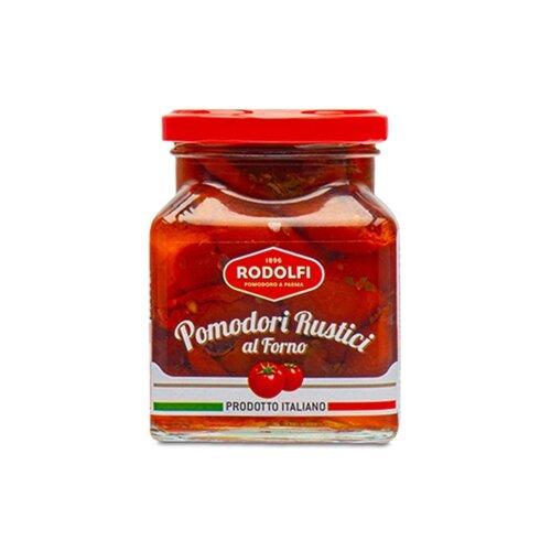 Сушеные томаты в масле Rodolfi стеклянная банка 280 г