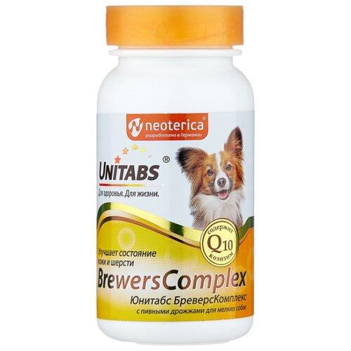 Добавка в корм Unitabs BrewersComplex с пивными дрожжами для мелких собак 100 шт. добавка в корм unitabs prebiotic для кошек и собак 100 шт
