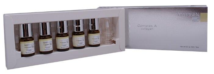 Купить Matrigen Complex А collagen Комплекс А коллаген для лица, 4 мл , 5 шт. по низкой цене с доставкой из Яндекс.Маркета