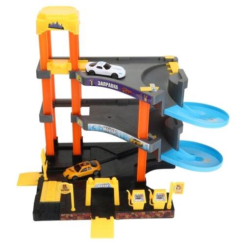 Купить Junfa toys АвтоСити PT-01324 разноцветный, Детские парковки и гаражи