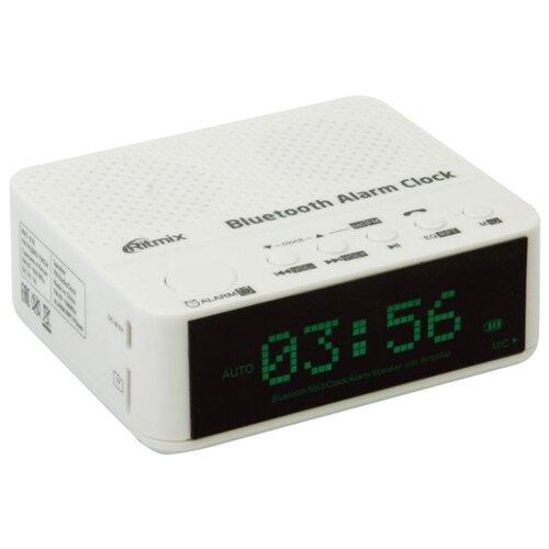 Радиобудильник Ritmix RRC-818 белый радиоприемник ritmix rrc 1295
