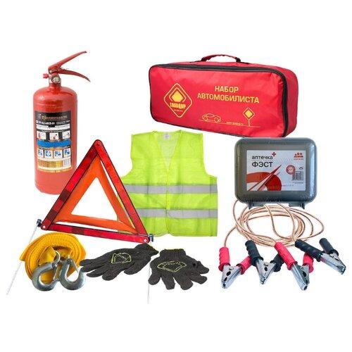 Набор автомобилиста, 20х50х10 см ГЛАВДОР GL-778 Старт, в красной сумке /4