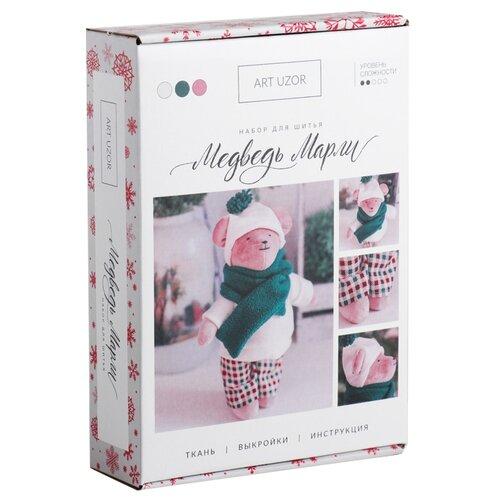 Купить Арт Узор Набор для шитья Мягкая игрушка Мишка Марли (4289377), Изготовление кукол и игрушек