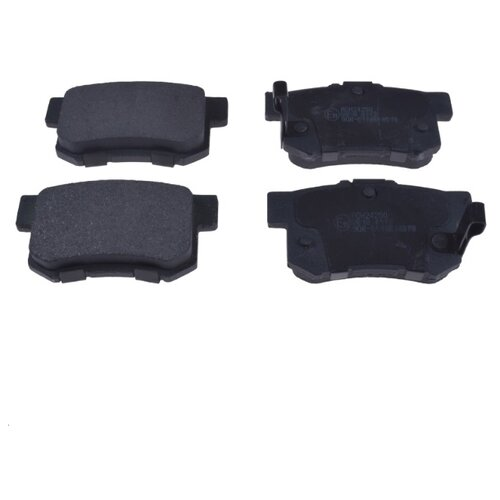 цена Дисковые тормозные колодки задние BLUE PRINT ADH24250 для Suzuki, Honda, Rover, Fiat (4 шт.) онлайн в 2017 году