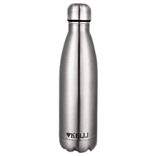 Термобутылка Kelli KL-0916, 0.75 л серебристый