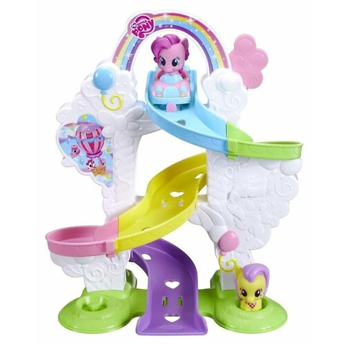 Игровой набор My Little Pony Пони с горкой B4622 набор игровой my little pony my little pony mp002xc006gg