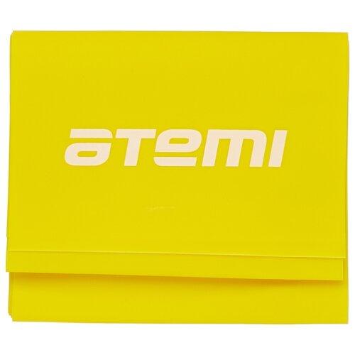 Эспандер лента ATEMI ALB02 120 х 12 см желтый эспандер sadko tiptop 4 желтый