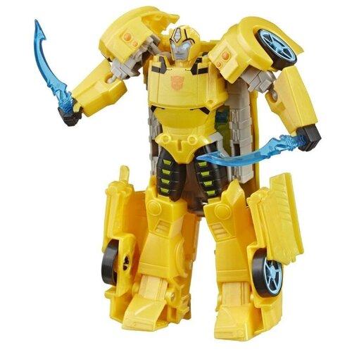 Трансформер Hasbro Transformers Бамблби. Ультра (Кибервселенная) E7106 желтый transformers игрушкатрансформер кибервселенная 10 см e1883