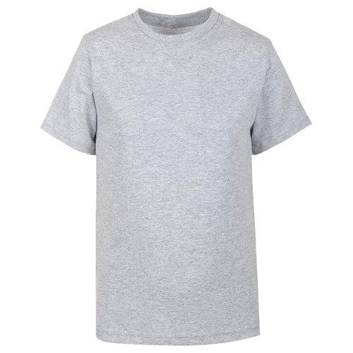Купить Футболка M&D размер 116, серый меланж, Футболки и майки