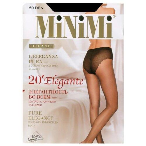 Колготки MiNiMi Elegante 20 den caramello 4-L (MiNiMi)Колготки и чулки<br>