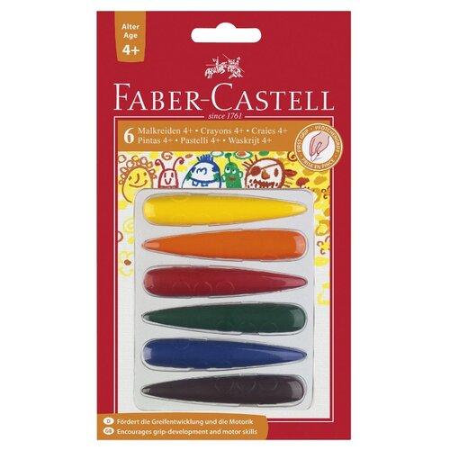 Купить Faber-Castell Мелки для дошкольного возраста, 6 цветов, Пастель и мелки