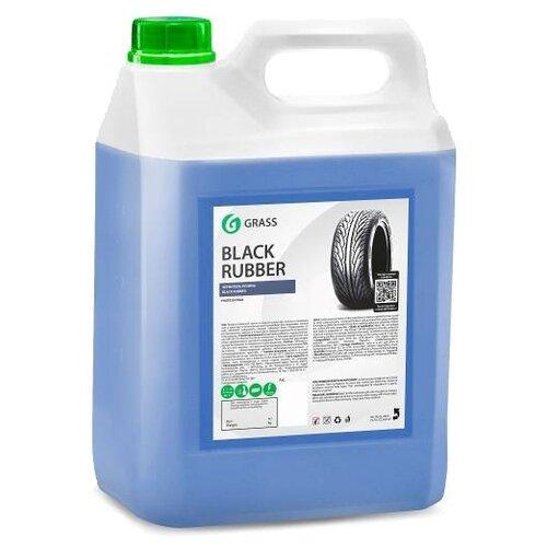 Очиститель-полироль шин GraSS Black rubber 125231, 5.7 кг, концентрат 1 шт.