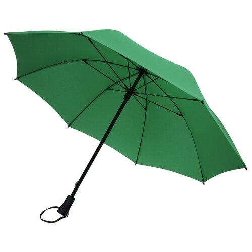 Зонт-трость механика Stride Hogg Trek зеленый зонт трость для коляски magic rain механика цвет розовый металлик 11919 1