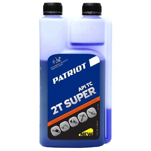 Масло для садовой техники PATRIOT Super Active 2T (дозаторное) 0.946 л