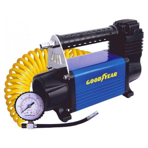 Автомобильный компрессор GOODYEAR GY-50L LED черный/синий