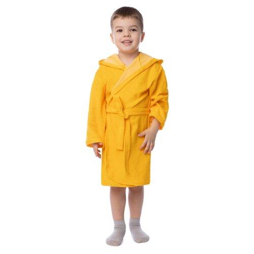 Халат Утенок размер 86, желтый