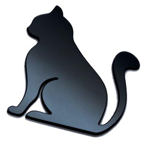 Наклейка на выключатель DS Studio Кошка Луиза, объемная