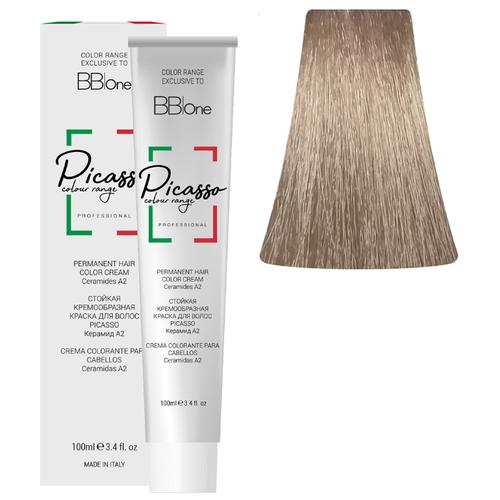 BB One Picasso Colour Range Перманентная крем-краска, 100 мл, 10.32 платиновый бежевый блонд bb one picasso colour range перманентная крем краска 100 мл 8 1 пепельный натуральный светлый блонд