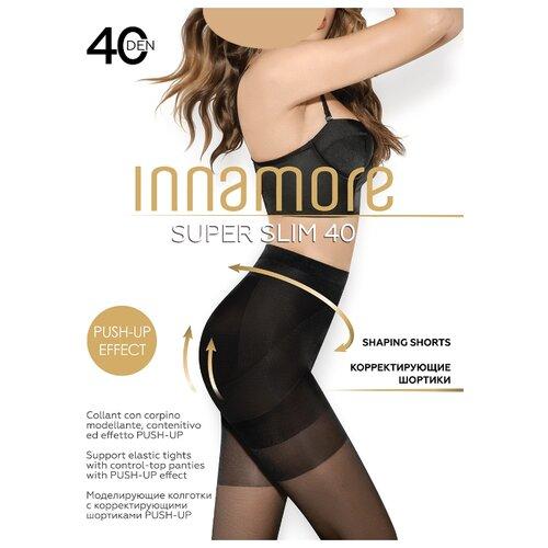 Колготки Innamore Super Slim 40 den, размер 5-XL, miele (бежевый) колготки innamore body slim 40 den размер 5 xl daino бежевый
