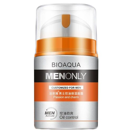 BioAqua Крем для лица Men Only Oil Control 50 г
