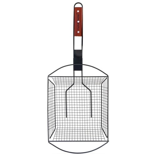 Решетка Пикничок Калифорнийская 401-026 глубокая с антипригарным покрытием, 24,5х24 см