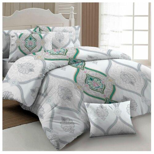 Постельное белье 1.5-спальное Letto B413 70х70 бязь серый/белый цена 2017