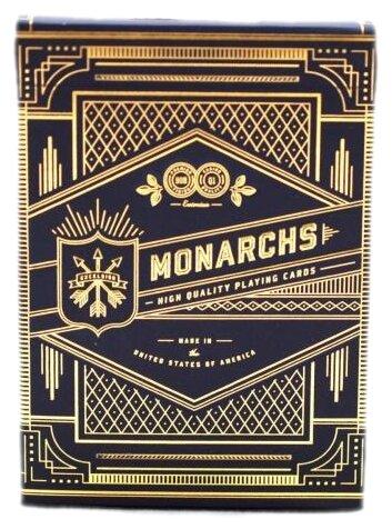 Карты для покера Theory 11 Blue Monarchs