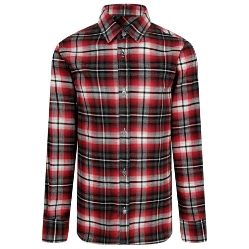 Купить Рубашка Neil Barrett размер 116, красный/черный, Рубашки