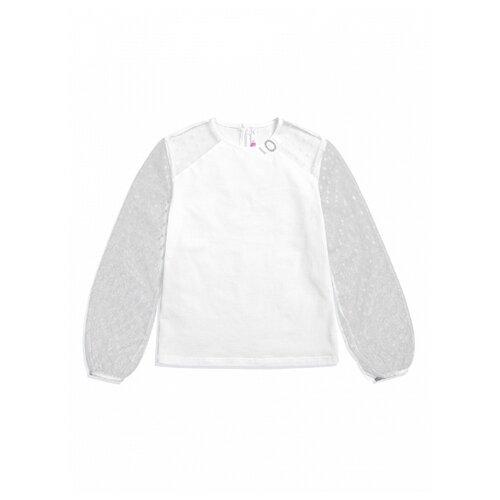 Блузка Pelican размер 10, белый, Рубашки и блузы  - купить со скидкой