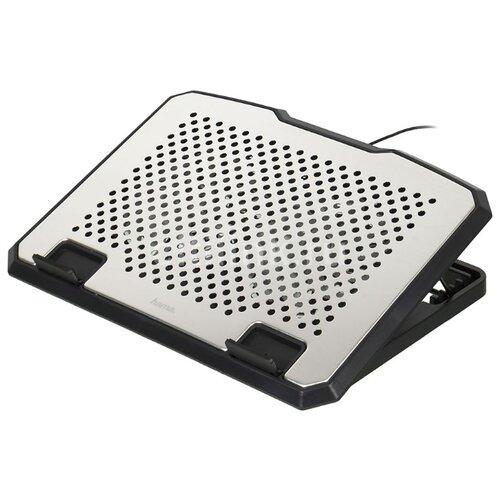 Фото - Подставка для ноутбука HAMA H-53064, серебристый подставка hama travel для планшетных компьютеров [00107874]