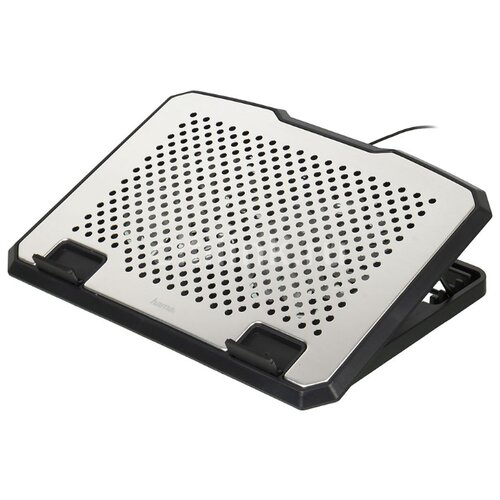 Подставка для ноутбука HAMA H-53064, серебристый подставка для ноутбука hama h 53065 черный