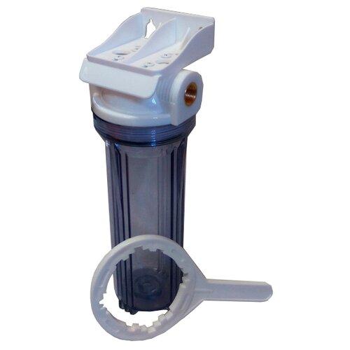 Фильтр магистральный Посейдон Посейдон-1Р прозр. 3/4 ЭФГ для холодной и горячей воды