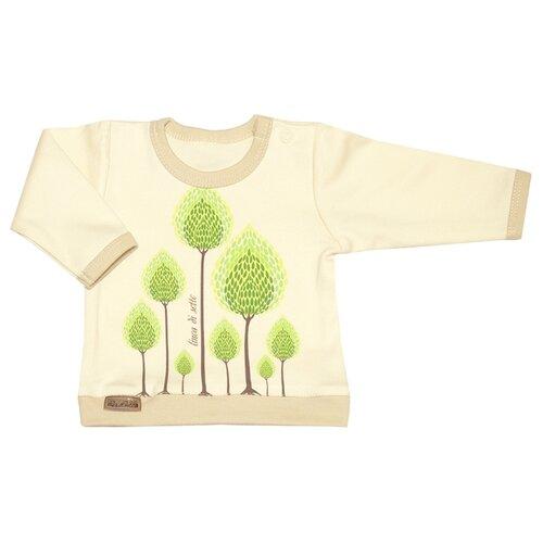Купить Лонгслив Linea di Sette размер 86, молочный, Футболки и рубашки