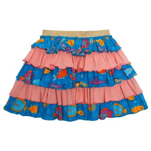 Фото - Юбка Chinzari размер 104/110, рыбки chinzari платье chinzari детское трикотажное италия рыбки 128 134
