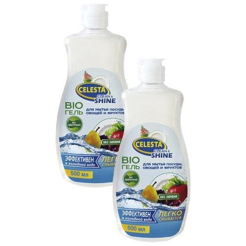 Celesta Набор Bio-гелей для мытья посуды, овощей и фруктов