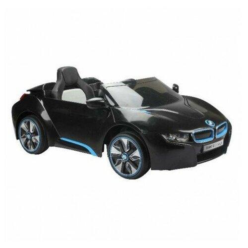 Купить Радиоуправляемый детский электромобиль BMW i8 Concept 12V цвет черный, JIAJIA, Электромобили