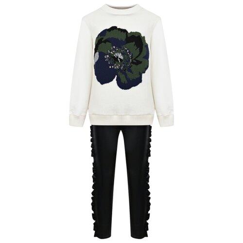 Комплект одежды Simonetta размер 174, белый/черный платье simonetta размер 174 черный