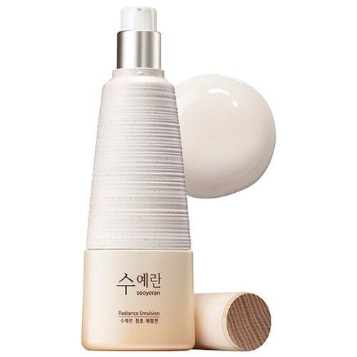 The Saem Sooyeran Radiance Emulsion Эмульсия для яркости кожи лица, 150 мл мист для увлажнения кожи luminous real radiance mist 105 мл the saem eco soul