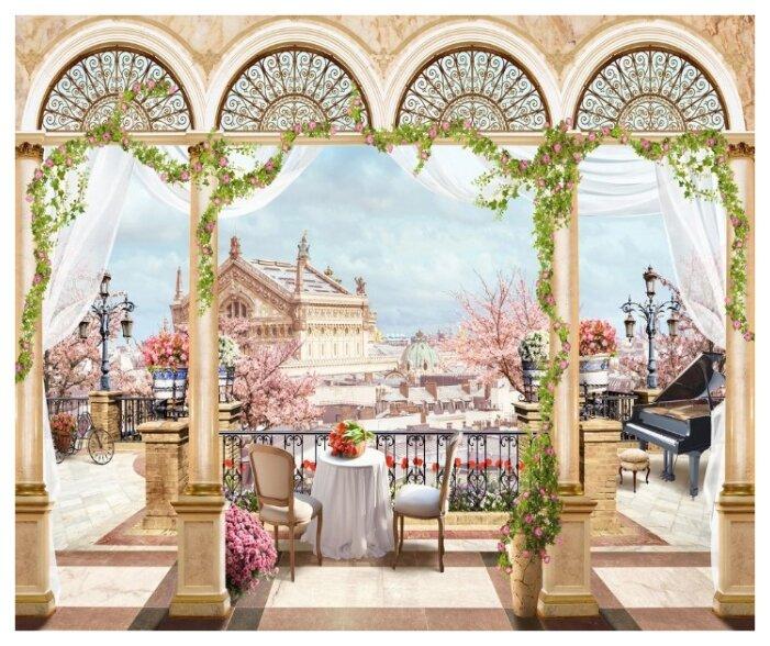 Фотообои флизелиновые Design Studio 3D Королевская Терраса 3х2.5м