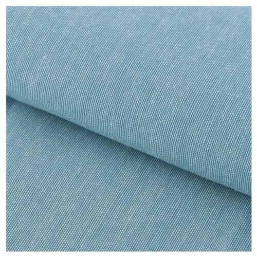 Ткань Арт Узор для пэчворка мягкая джинса 50 х 50 см бирюзовая набор для творчества арт узор ткань для пэчворка трикотаж коралловый 50 50см