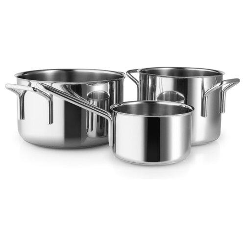 Набор посуды Eva Solo 94202411 3 пр. металлик