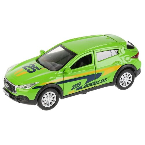 Купить Легковой автомобиль ТЕХНОПАРК Infiniti QX30 Спорт (QX30-S) 12 см зеленый, Машинки и техника